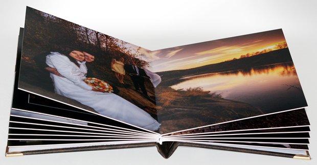 Fotoksiążka ślubna - grube strony, fotoksiążka drukowana