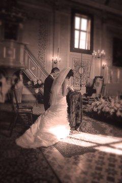 fotoksiążka ślubna - kościół