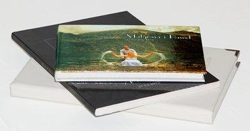 fotoksiążka ślubna w okładce książkowej, fotoksiążki ślubne