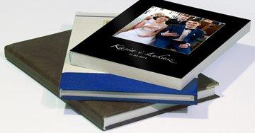 fotoksiążka ślubna w okładce standardowej, fotoksiążki ślubne